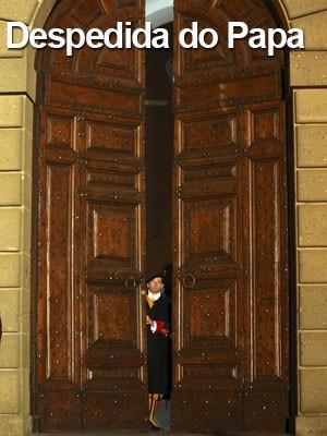 FOTOS: veja imagens do último  dia de Bento XVI como Papa (AP)