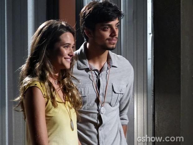 Marlon e Lili prometem levar o pedido para a cúpula (Foto: Além do Horizonte/TV Globo)