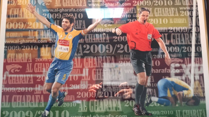 Juninho Pernambucano Al Gharafa (Foto: Reprodução)