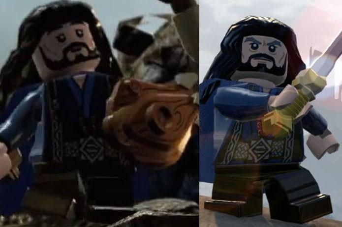 O Escudo de Carvalho é usado por Thorin em batalhas (Foto: Divulgação)