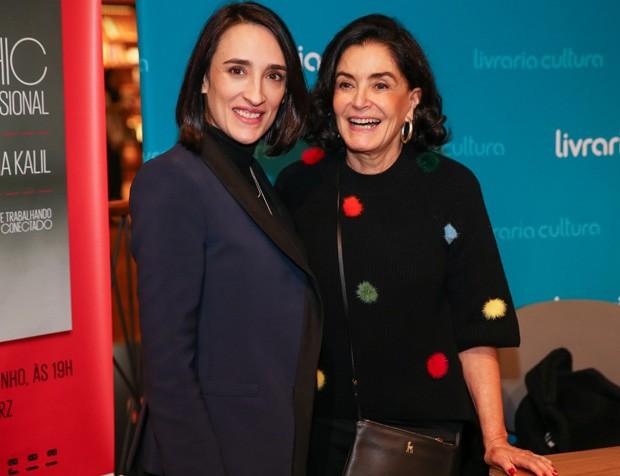 Maria Prata e Glória Kalil (Foto: Manuela Scarpa/Brazil News)