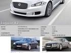 Comparativo: Jaguar XF 'versus' Jaguar XJ