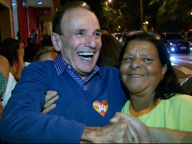 Antônio Silva (PTB) é reeleito para novo mandato em Varginha (Foto: Reprodução EPTV)