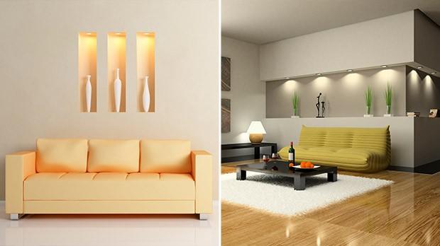 Tendncias em decorao, nichos na parede (Foto: iStock)