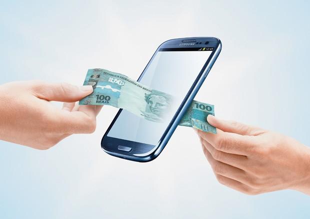 Débito, crédito ou celular? (Foto: Montagem sobre fotos Getty Images e divulgação)