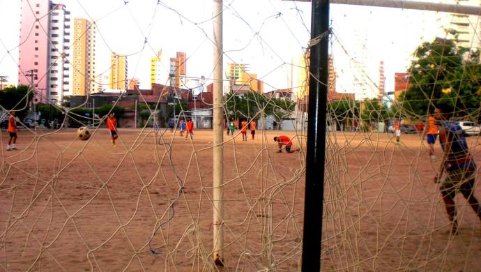 Campo do América - Carrossel (Foto: Thaís Jorge)