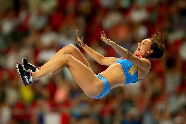 A bicampeã Yelena Isinbayeva (Foto: Getty Images)