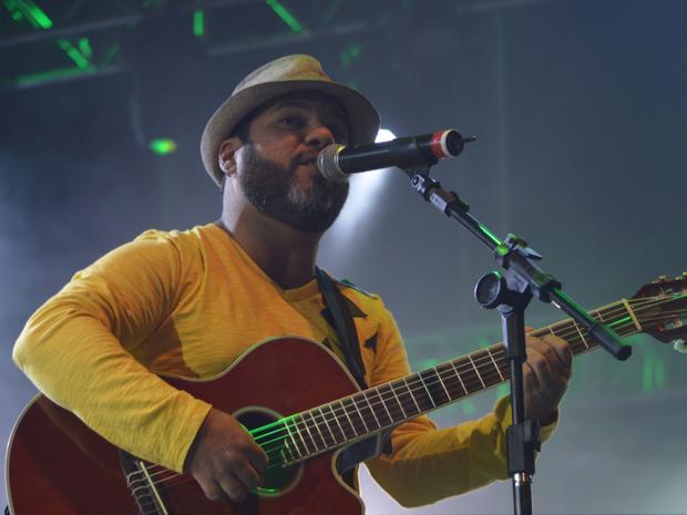 Alexandre Revoredo no Festival de Inverno de Garanhuns (Foto: Amannda Oliveira/ Arquivo Pessoal)