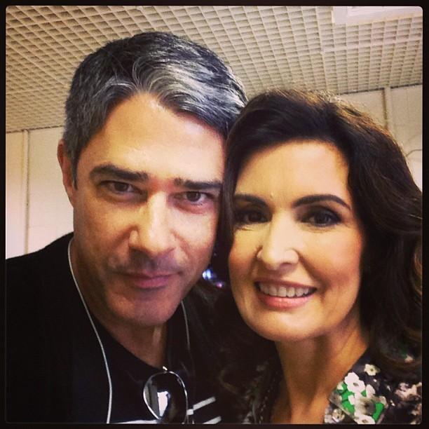 William Bonner e Fátima Bernardes (Foto: Reprodução/Instagram)