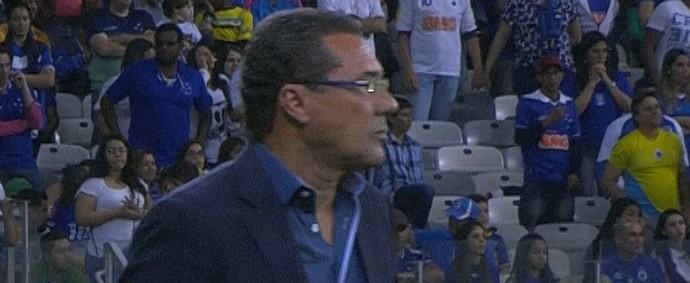 Luxemburgo, treinador do Cruzeiro (Foto: Reprodução / Premiere)
