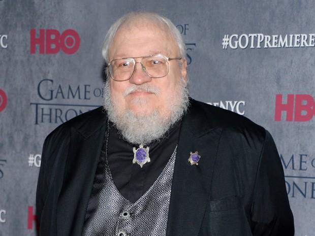 George R. R. Martin, autor de 'Game of thrones', em evento da HBO em março de 2014 (Foto: Evan Agostini/Invision/AP, File)