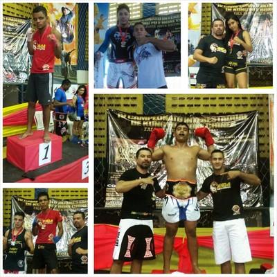 Resultados Boxe Chinês no Interestadual no Ceará (Foto: Higino Souza/Arquivo Pessoal)
