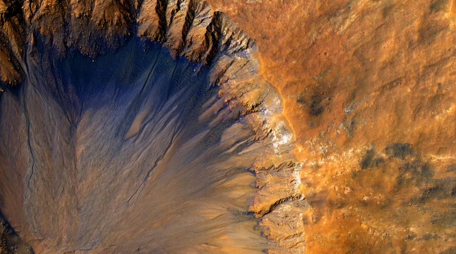 Tijolos produzidos a partir do solo de Marte seriam mais fortes que concreto reforçado com aço (Foto: Pexels)