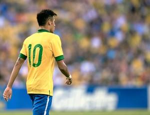 Neymar camisa 10 jogo Seleção (Foto  AFP) e894ab70d2580