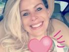 Karina Bacchi fala sobre gravidez: 'Um coração que não cabe em mim'