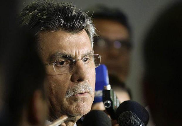 O senador Romero Jucá (PMDB-RR) (Foto: Jefferson Rudy/Agência Senado)