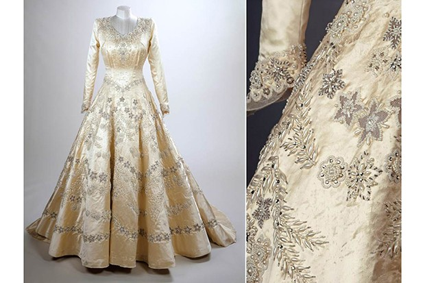 Fascinating yet frustrating the queen s clothes laid for Wedding dresses norman ok