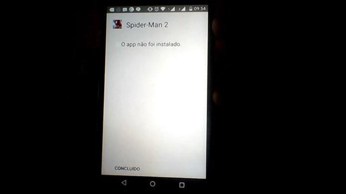 Android Lollipop está barrando instalação de jogos pirata (Foto: Reprodução / Facebook)