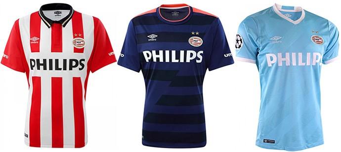 Camisas Champions PSV