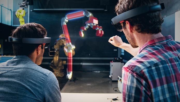 Será possível fazer screenshots e vídeos curtos de hologramas do HoloLens (Foto: Divulgação/Microsoft) (Foto: Será possível fazer screenshots e vídeos curtos de hologramas do HoloLens (Foto: Divulgação/Microsoft))