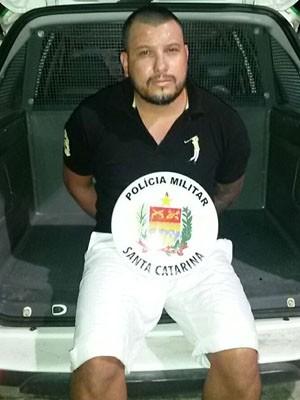 Juliano Biron foi localizado pela polícia em Santa Catarina (Foto: Polícia Civil/Divulgação)