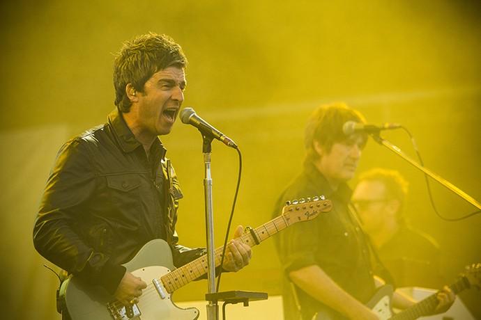 Noel Gallagher saiu aplaudido em uma das melhores apresentações do Lolla (Foto: Raphael Dias/Gshow)