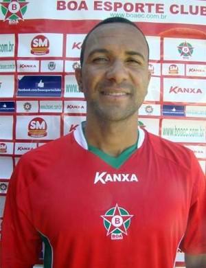Josa, volante do Boa Esporte (Foto: Assessoria de Imprensa / Edimar Mariano)