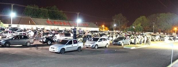 Efetivo com 290 policiais trabalhou na operação no Noroeste do estado (Foto: Divulgação/Polícia Civil)