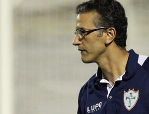 Péricles Chamusca, técnico da Portuguesa (Foto: Divulgação/Site oficial)