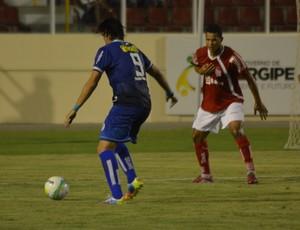 Confiança e Sergipe ficaram no empate  (Foto: Felipe Martins)
