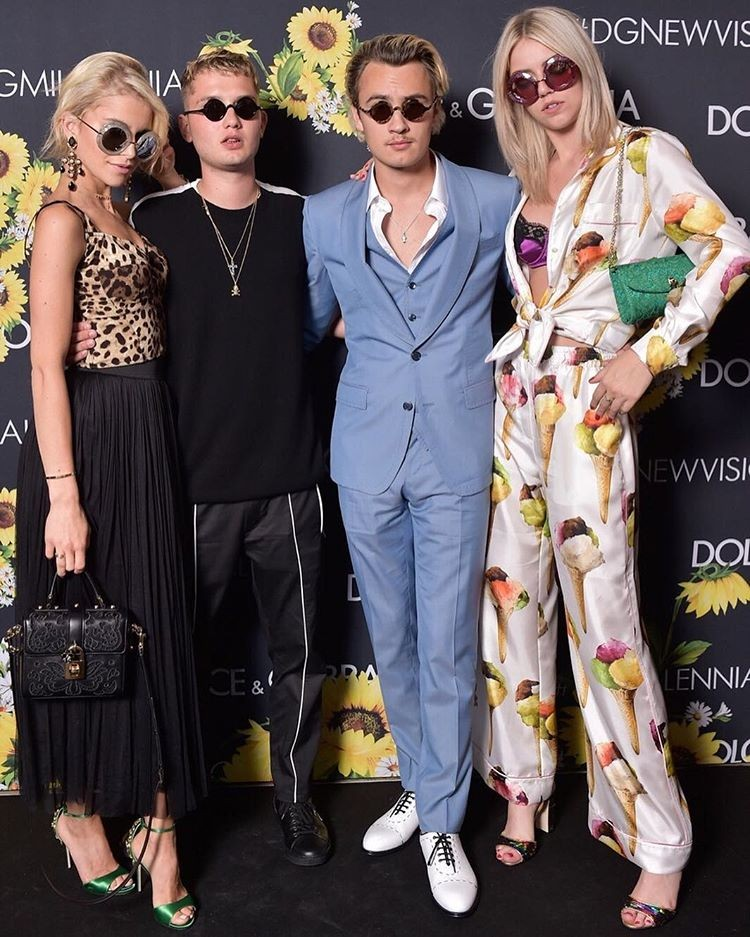 Caroline Daur, Brandon Thomas Lee, Pyper America Smith e Rafferty Law  (Foto: Lu Prezia)