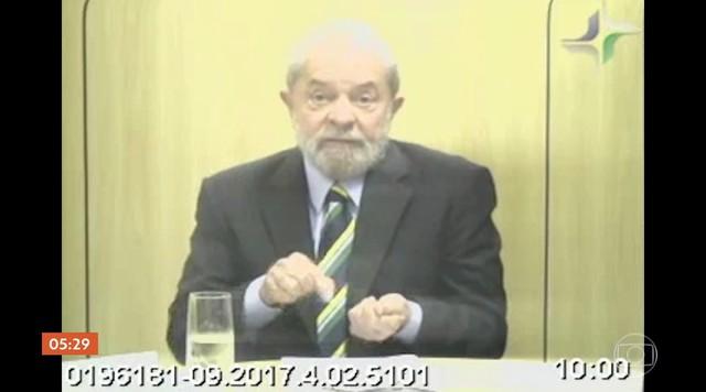 Lula presta depoimento como testemunha de defesa de Sérgio Cabral