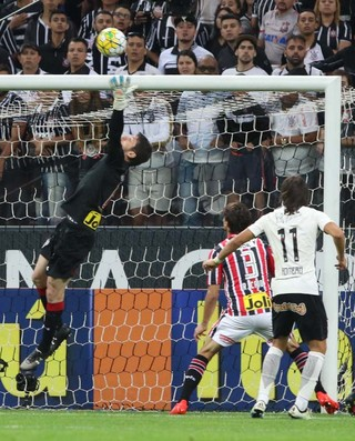 Denis Corinthians x São Paulo (Foto: Rubens Chiri/saopaulofc.net)