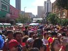 Primeiro dia de carnaval em Minas Gerais leva multidões às ruas