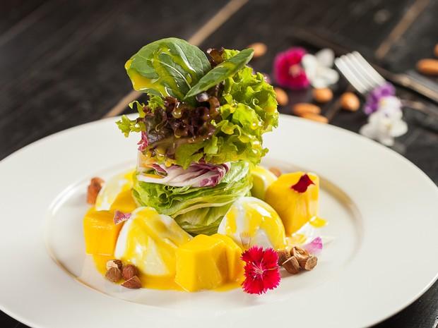 Saladas e combinados são a especilidade do Oca, em Santos (Foto: Divulgação/Oca Restaurante)
