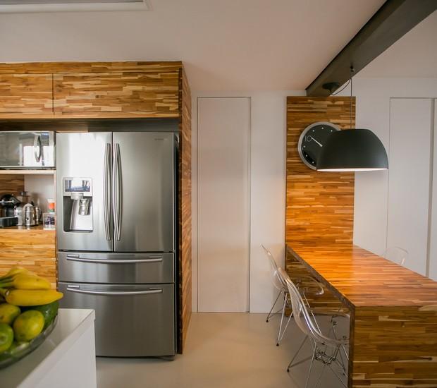 Reforma de apartamento novo une cozinha sala e varanda casa e jardim decora o - Reformas de apartamentos ...