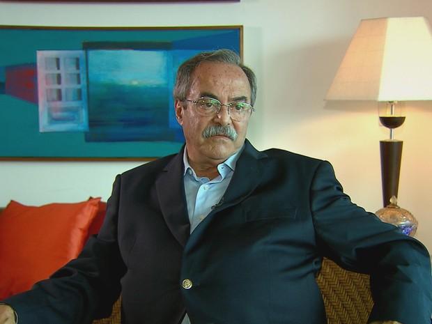 Secretário de Justiça e Direitos Humanos de Pernambuco, Pedro Eurico (Foto: Reprodução / TV Globo)