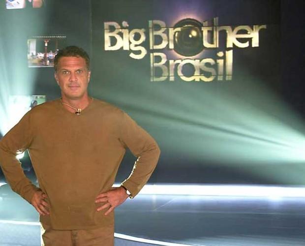 Bial no BBB 1 (Foto: Divulgação/TV Globo)