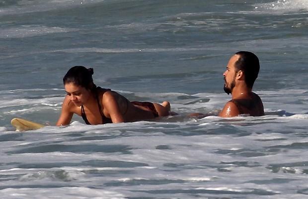Sophie Charlotte e Paulinho VIlhena (Foto: Ag News)