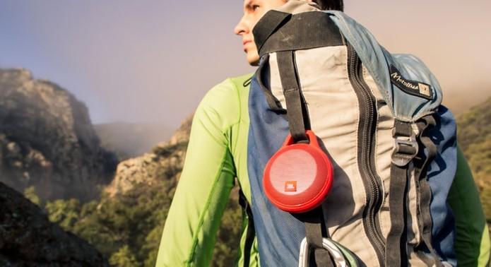 Caixa de som ideal para aventuras (Foto: Divulgação/JBL)
