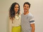 Débora fala do namoro com Loreto: 'Amizade que se tornou algo especial'