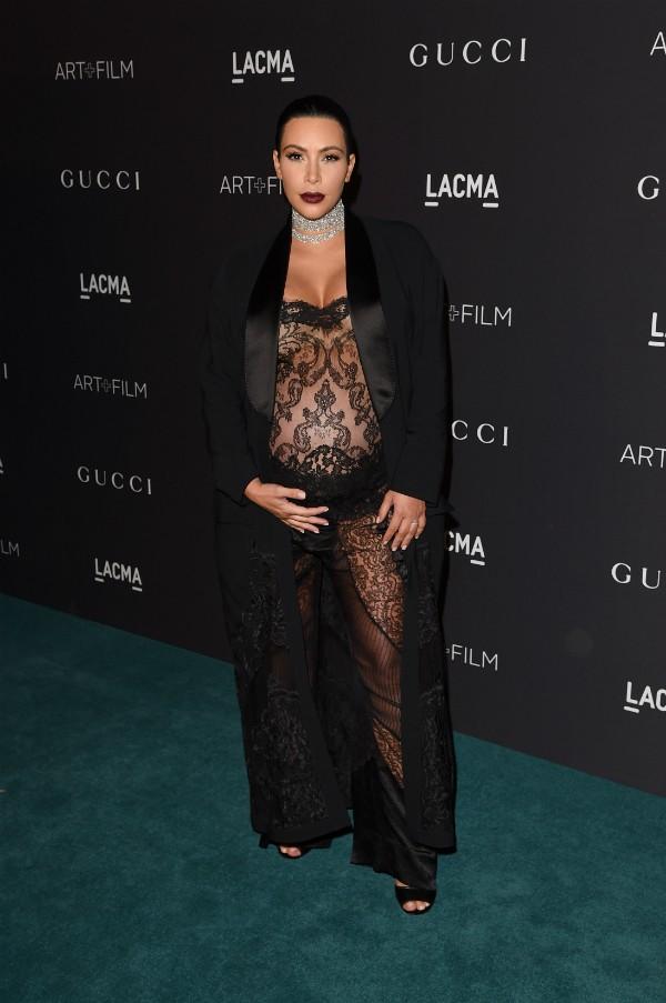 A celebridade profissional Kim Kardashian (Foto: Getty Images)