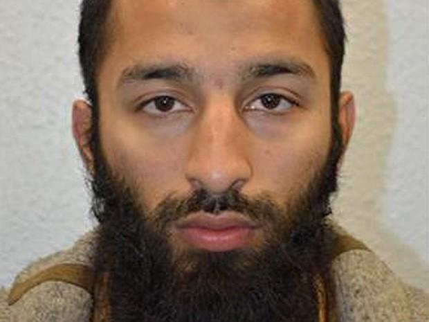 Khuram Shazad Butt, um dos responsáveis pelo atentado de Londres (Foto: Divulgação)