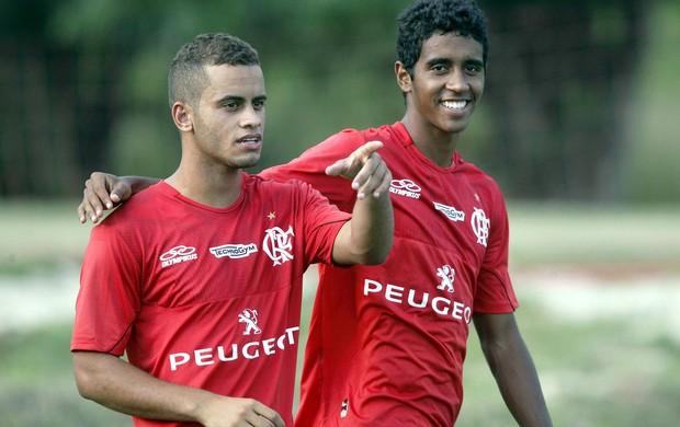 Rodolfo no treino do Flamengo (Foto: Cezar Loureiro/Agência O Globo)