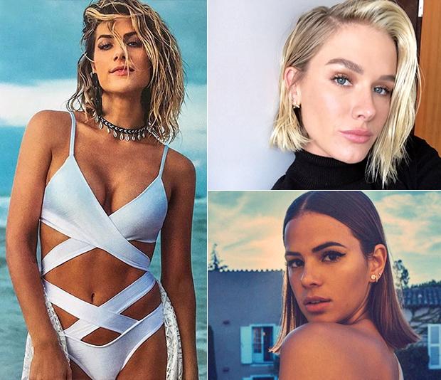 Giovanna Ewbank, Fiorella Mattheis e Bruna Marquezine (Foto: Reprodução/ Instagram)