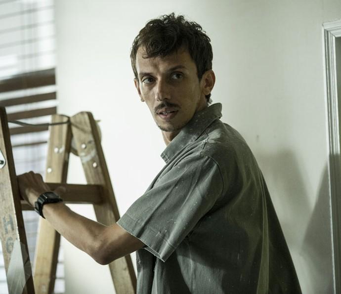 Pedro Wagner é Oswaldo em Justiça (Foto: Ellen Soares/Gshow)