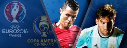 Duelo de Copas: América ou Euro? Compare e escolha qual o melhor torneio (infoesporte)