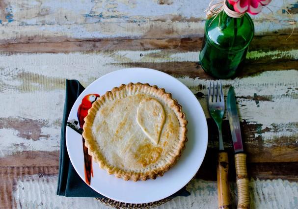 Receita: Torta de abobrinha com queijo brie é levinha e deliciosa