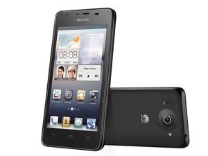 Smartphone Ascend G510, que começa a ser fabricado pela chinesa Huawei, no Brasil. (Foto: Divulgação;Huawei)