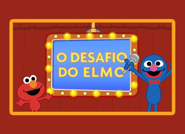 Os presentes poderão assistir episódios inéditos da nova animação da Vila Sésamo (Foto: Reprodução)